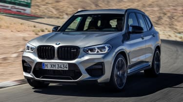 BMW X3M - front tracking