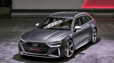 Audi RS 6 Avant - front above