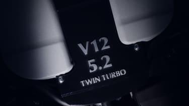 Aston Martin DB11 engine teaser