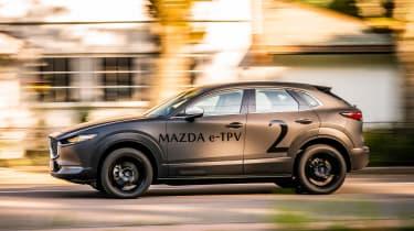 Mazda EV prototype - side