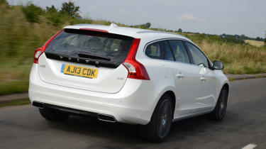The V60 features a range of efficient engines and a plug-in hybrid version offers up to 150mpg.