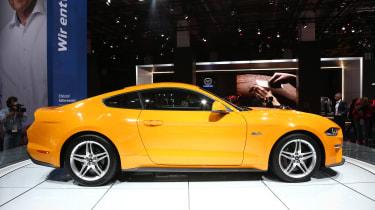 Frankfurt - Ford Mustang - side