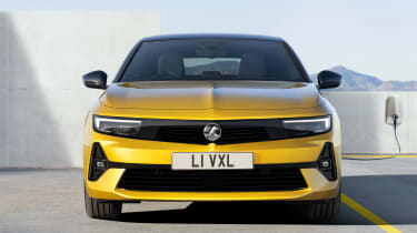 Vauxhall Astra - full front