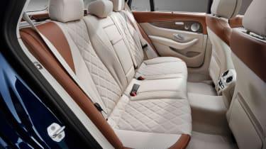Mercedes E-Class Estate - rear seats cream