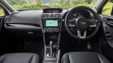 Subaru Forester - interior