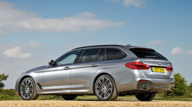 BMW 5 Series Touring - rear static