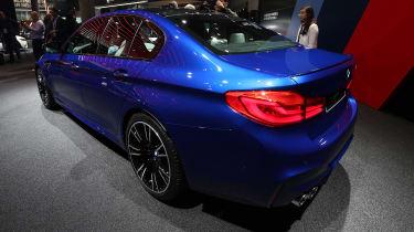 2018 BMW M5 - rear