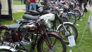 Coventry Motofest 2016 - Triumph bikes