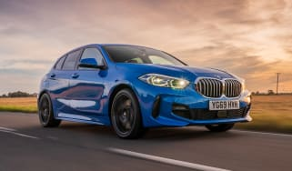 BMW 118i - front tracking