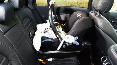 Mercedes EQC 400 - car seat