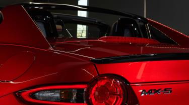 Mazda MX-5 RF Launch Edition rear lights
