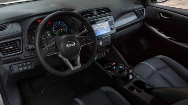 Nissan Leaf - cabin