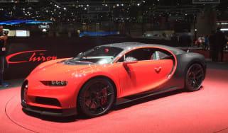 Bugatti Chiron Sport - Geneva front