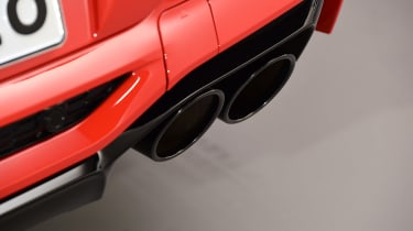 BMW X4M - exhausts