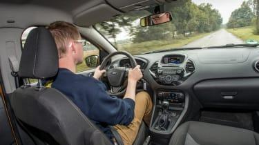 Ford Ka+ 2016 - sean driving
