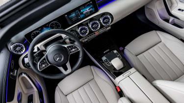 Mercedes A-Class - cabin