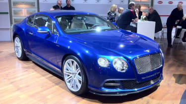 Bentley Continental GT Speed at the Moscow Motor Show