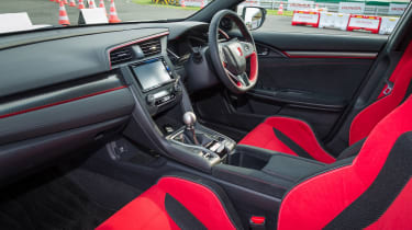 New Honda Civic Type R - dash