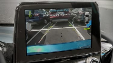 Ford Fiesta Titanium 2017 screen
