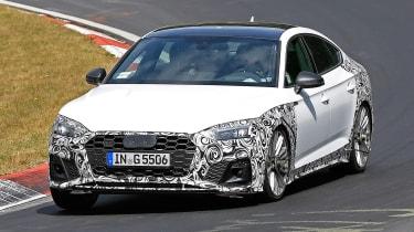 Audi S5 Sportback - spyshot 1