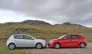 Kia C'eed vs. Hyundai i30