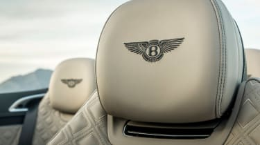 Bentley Continental GT Convertible - seat detail
