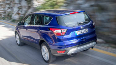 Ford Kuga 2017 rear side