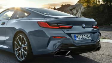 BMW 8 Series - rear detail