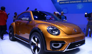 VW Beetle Dune at Detroit motor show