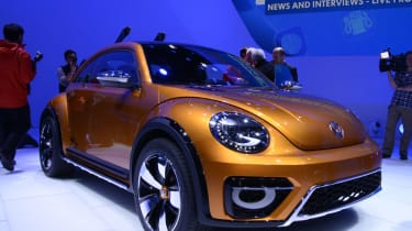 VW Beetle Dune at Detroit motor show