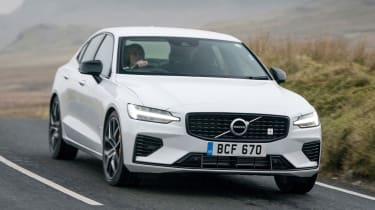 Volvo S60 Polestar Engineered - front action