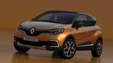 Facelifted Renault Captur - front