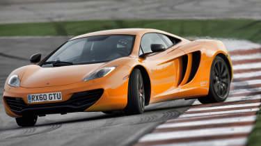 McLaren MP4-12C review drift