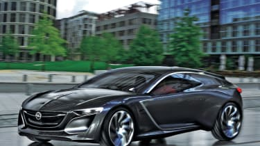 Vauxhall Opel Monza concept coupe 2013 front