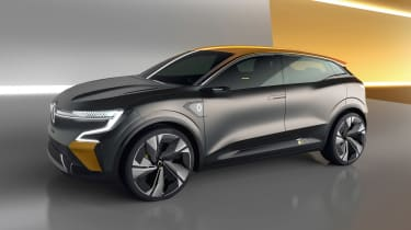 Renault Megane eVision - front studio