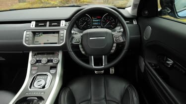 Range Rover Evoque Coupe interior