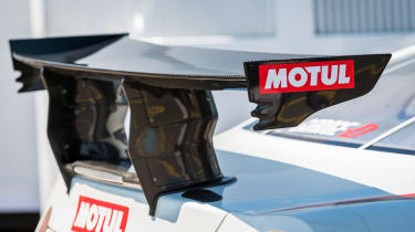 Nissan GT-R 1,390bhp drift car - spoiler