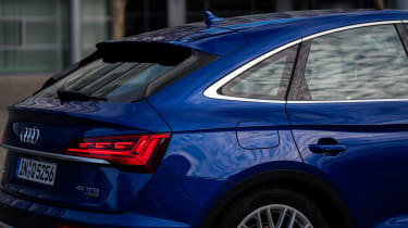 Audi Q5 Sportback - rear profile