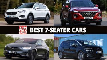 Best 7-seater cars - header
