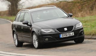 Seat Exeo ST front cornering