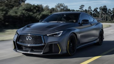 Infiniti Project Black S front