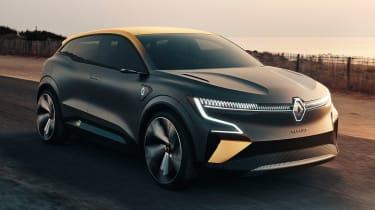 Renault Megane eVision - front