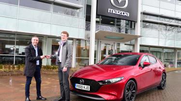 Mazda 3 Skyactiv-X long termer - first report header