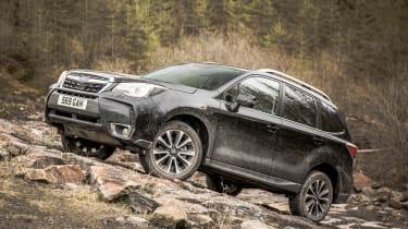 Subaru Forester XT - side static