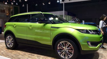 You'll have no doubt heard all about the LandWind X7. It's a highly convincing copy of the Range Rover Evoque but we suspect that the Brits probably wouldn't offer their premium compact SUV in quite this lurid shade of green. While the