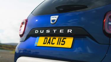Dacia Duser 4x4 - rear detail