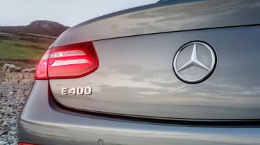 Mercedes E-Class Cabriolet - tailgate