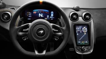 McLaren 600LT - cabin