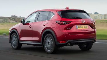 Mazda CX-5 SUV - rear