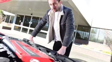 Honda Civic Type R long-term test review - engine
